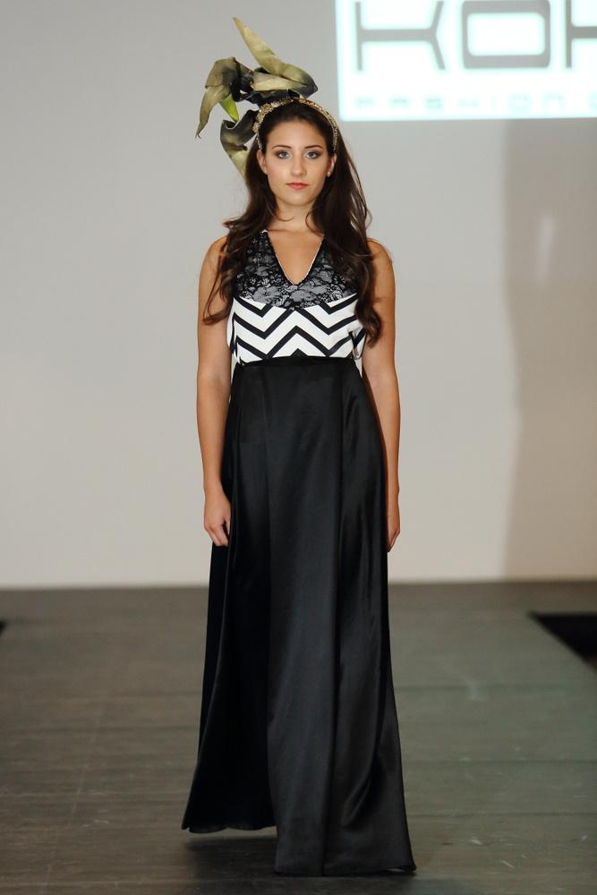 Ahogy az elvontabbnak tekinthető KOKA Fashion kollekció is, amelyet Kiss Kósa Annamária tervező hozott létre