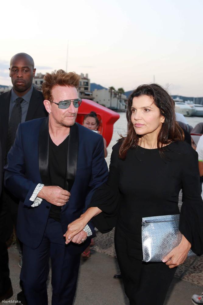 Bono és felesége, Ali Hewson
