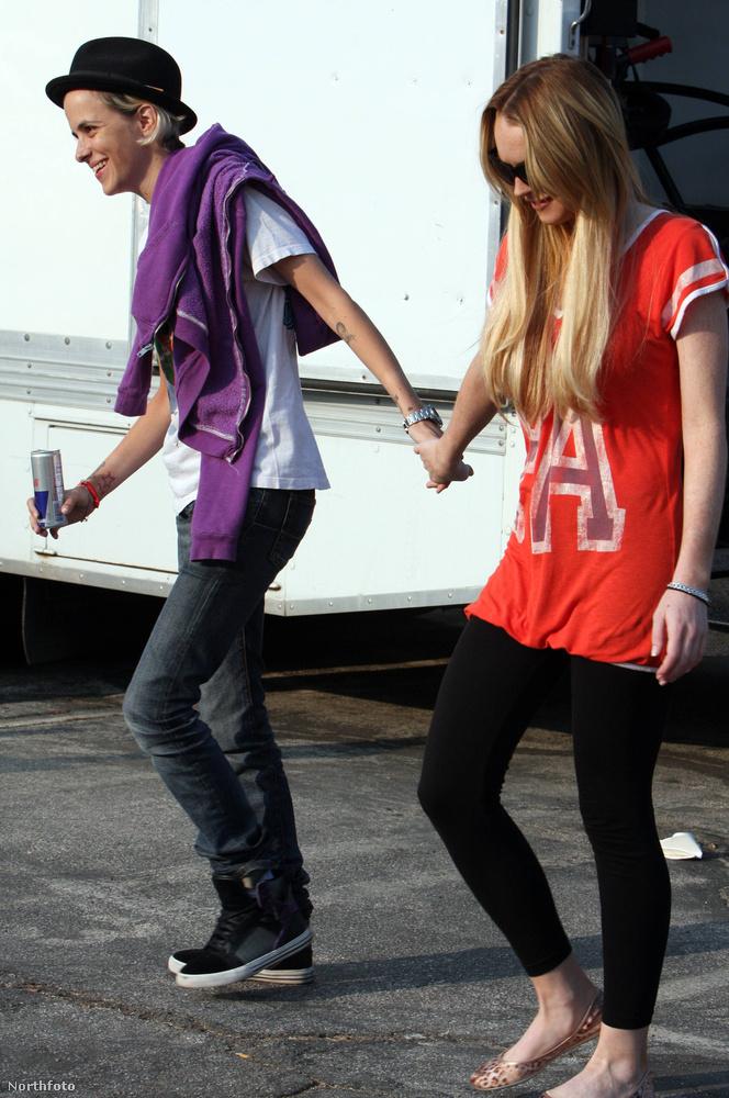 Lindsay Lohan & Samantha Ronson2008-09 legnagyobb szenzációja volt ez a kapcsolat