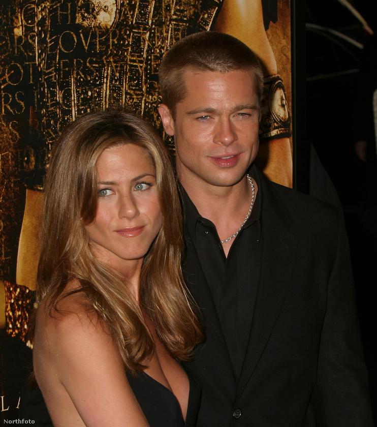 Brad Pitt & Jennifer AnistonAnnak idején hatalmas szenzáció volt, amikor 2005-ben Pitt elhagyta Anistont Angelina Jolie-ért