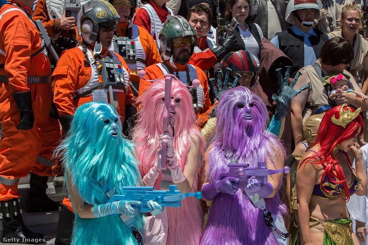 Igazából választhattuk volna bármelyik színű Chewbaccát,