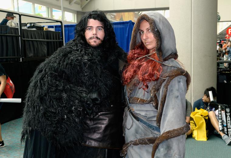 Természetesen rengetegen öltöztek be a Trónok harca szereplőinek