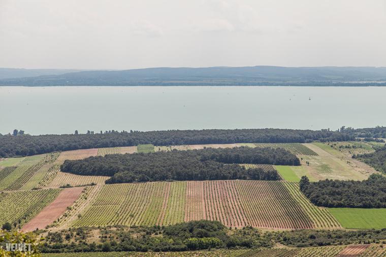 Na meg panorámaképeket készíteni a Balatonról.