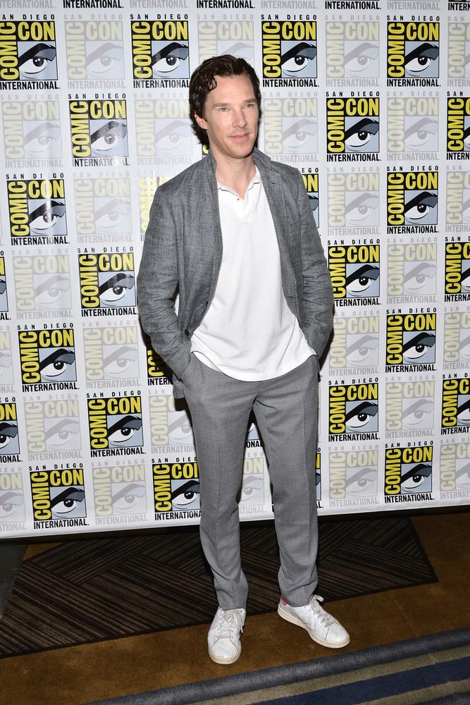 Benedict Cumberbatch egyrészt Doctor Strange miatt Comic-conozni, másrészt bemutatták a Sherlock negyedik évadának előzetesét