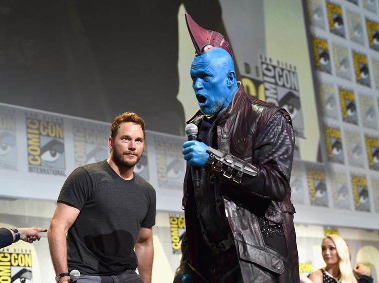 A Comic-Conon derült ki, hogy A galaxis őrzői második részében Kurt Russell játssza majd Egót, Chris Pratt (Star Lord) apját