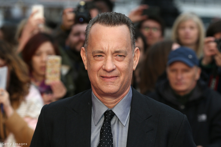 ..így néz ki Tom Hanks, aki nemrég töltötte be a hatvanat.