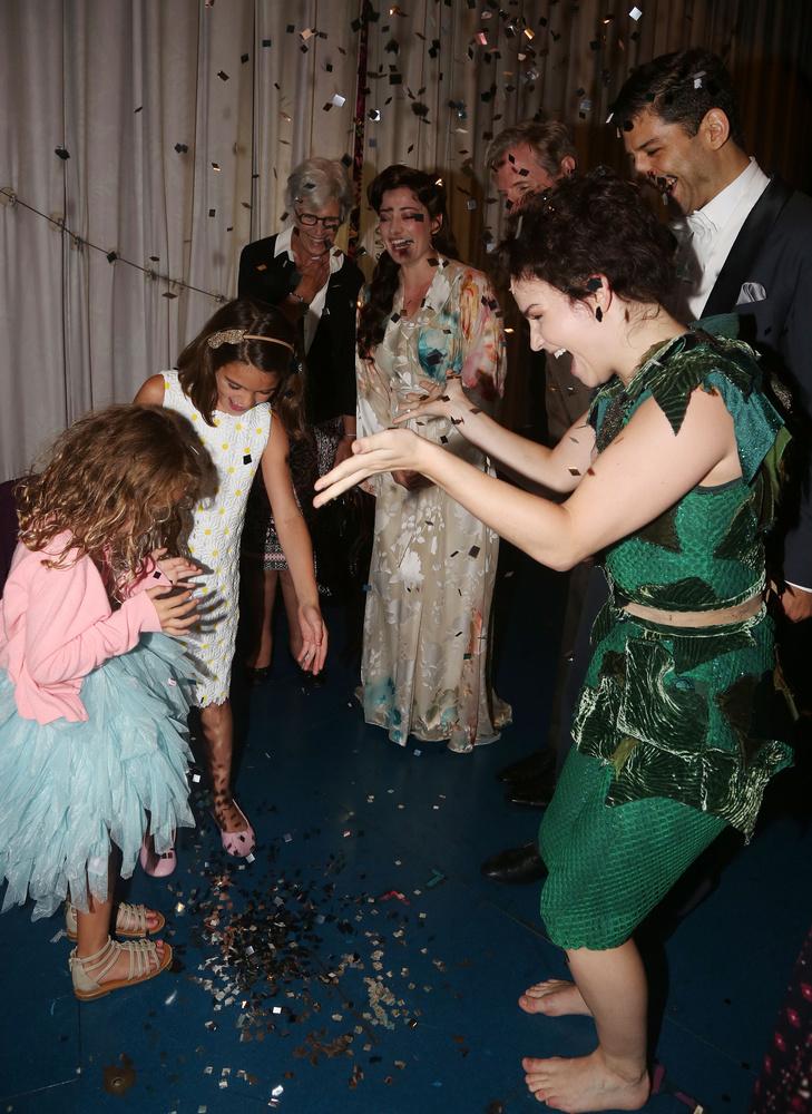 Ahol a musical szereplőivel is találkoztak, sőt táncoltak!