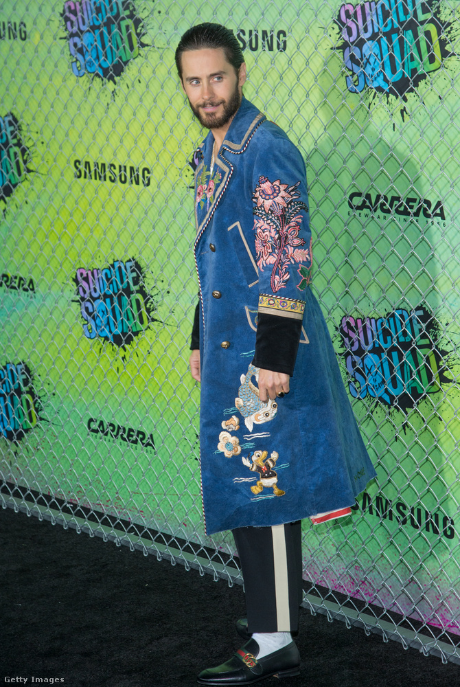 A Jokert alakító Jared Leto amúgy sem egyszerű külsejéről híres.