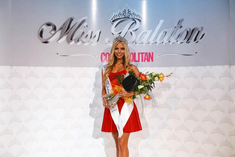 Nagypál Krisztina lett a Miss Balaton szépségverseny 2016-os győztese.