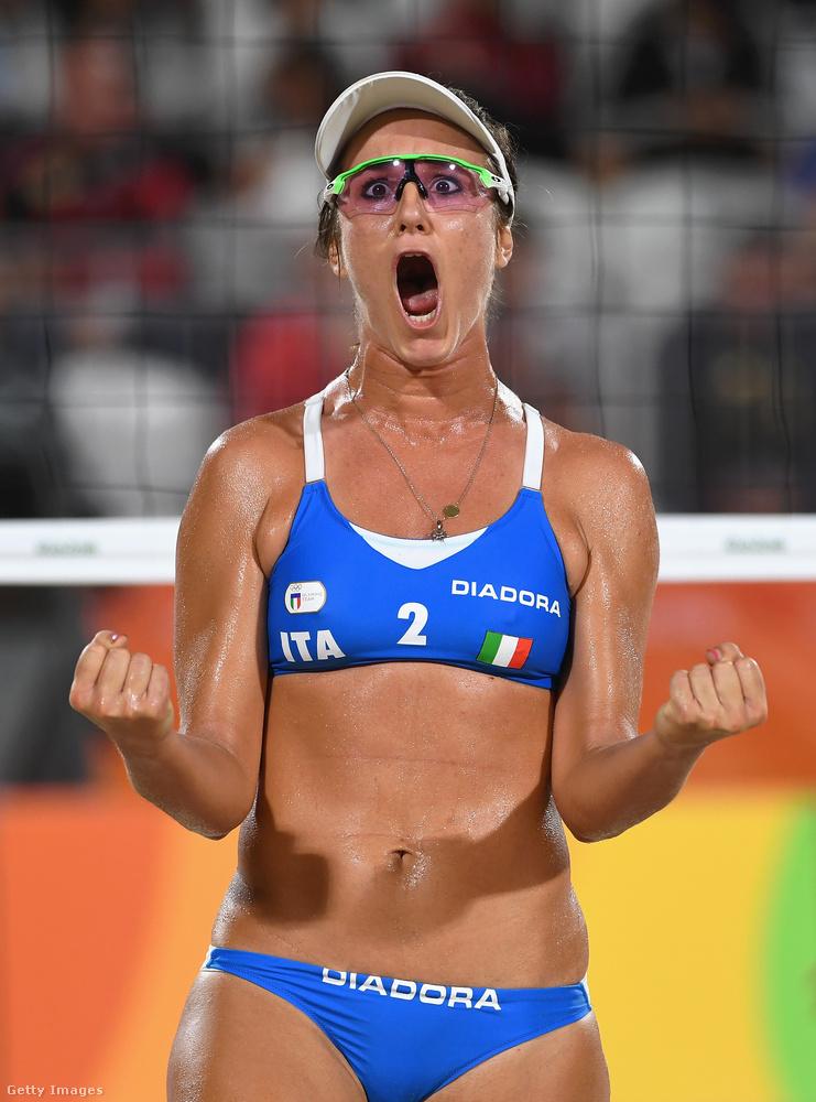A döntőt augusztus 15-én rendezik.Ő pedig Laura Giombini.