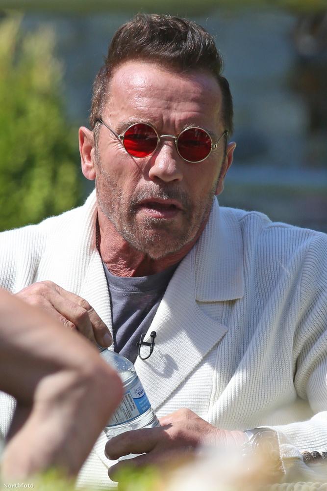 Arnold Schwarzenegger éppen Taran Killam első filmjét, a Why We're Killing Gunthert forgatja Kanadában