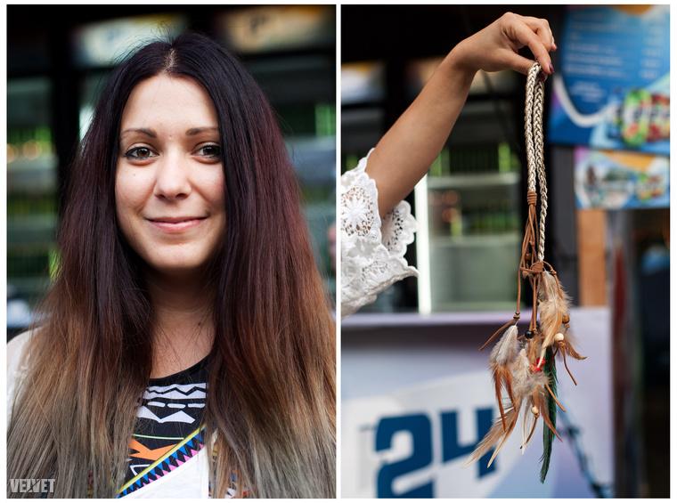 Egy magyar lány indiántollal