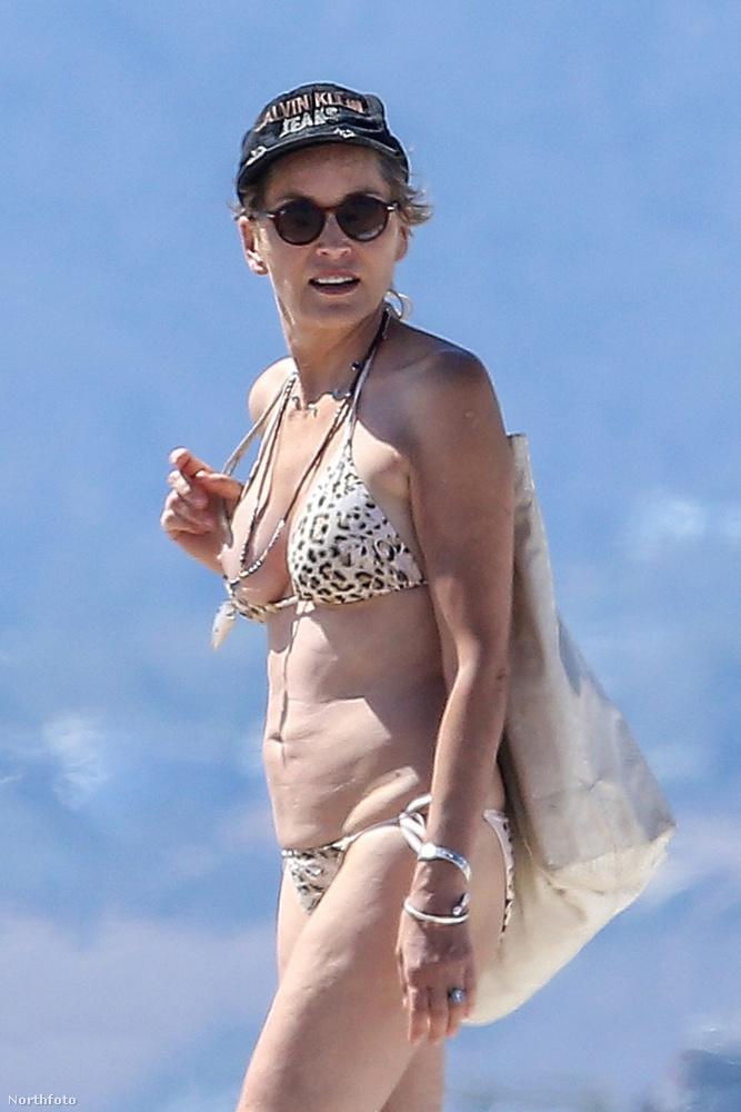 Láthattuk már Sharon Stone-t ruha nélkül is