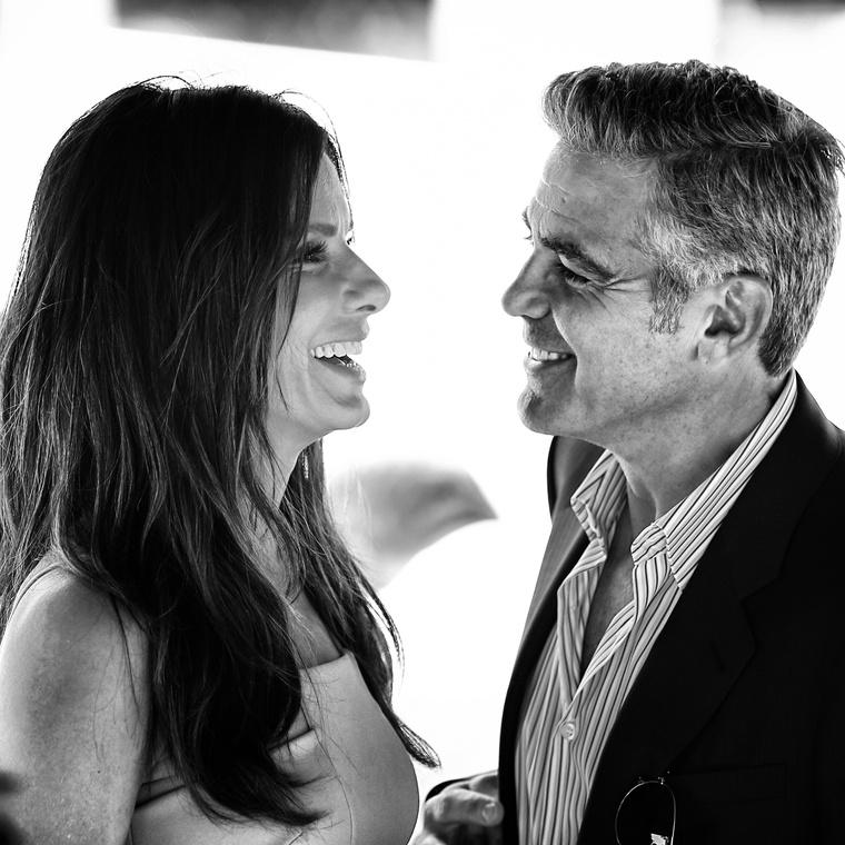 Amikor George Clooney-val a Gravitációt promózták, láthatóan remekül szórakoztak