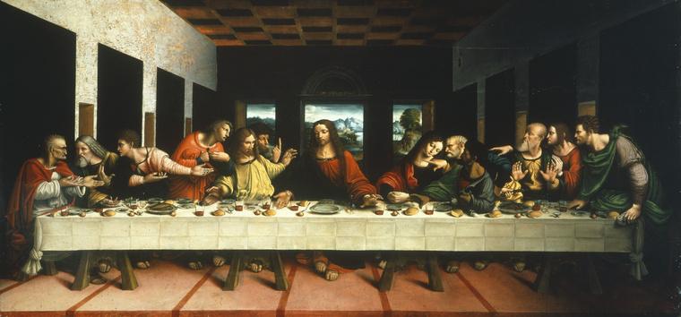 Ahogy a harmadikként befutó Leonardo da Vincit sem.