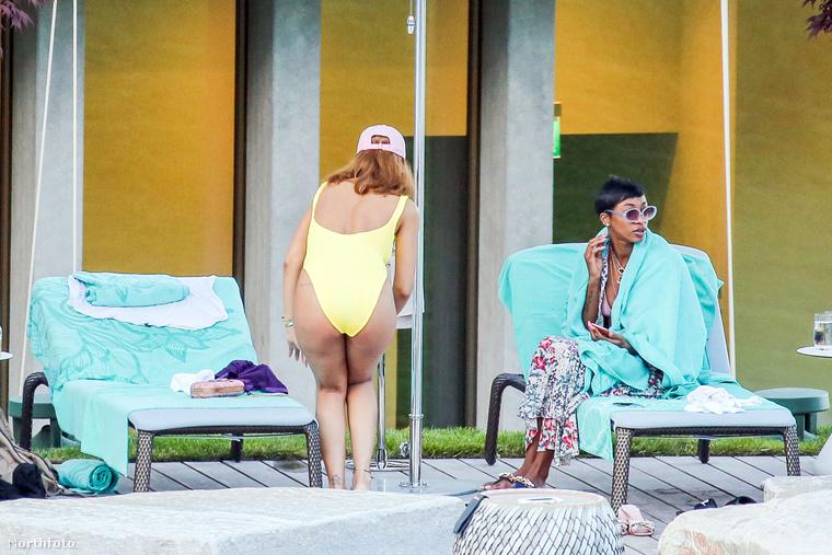 Szóval ilyen az, amikor Rihanna pár kimerítő koncert után nyaral.