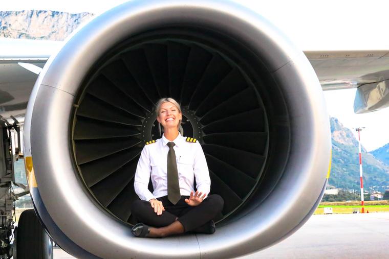 Maria Petterson eleinte erősen kételkedett benne, hogy egyszer majd hatalmas repülőgépeket fog vezetni.