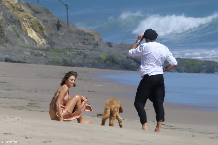 Nem mindegy, hogy miként fekszik a parton és játszik azzal a kutyával Kerr.