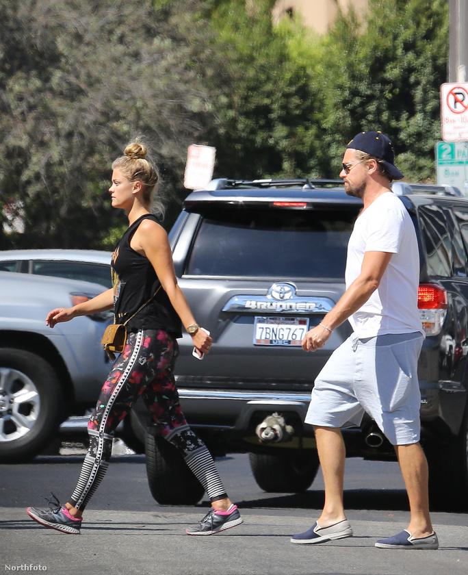Ez itt nem a Beatles, hanem Leonardo DiCaprio és legújabb barátnője, Nina Agdal