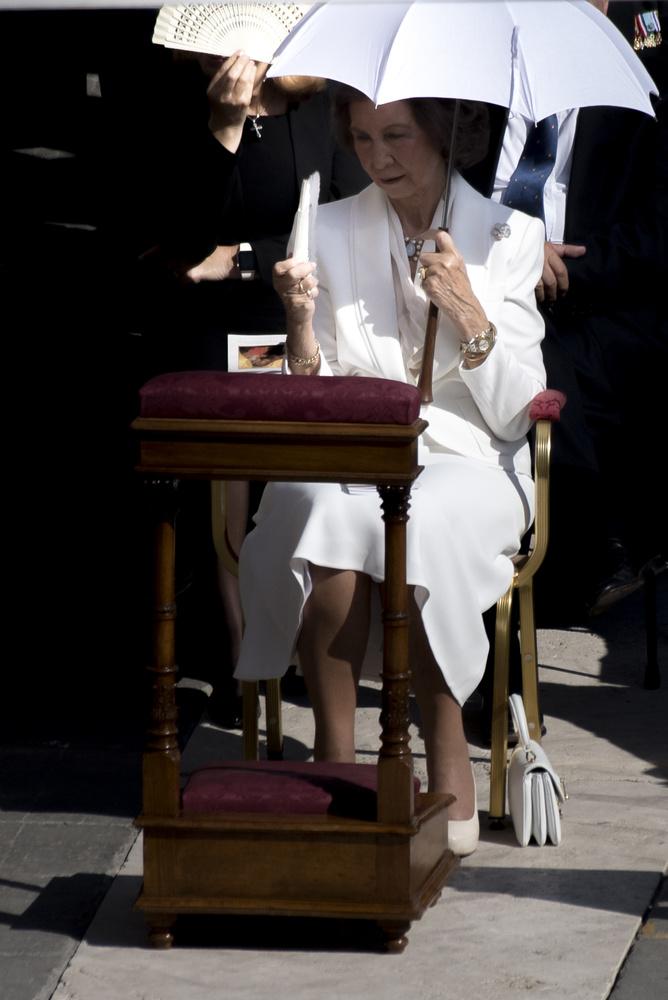 A szertartáson Zsófia spanyol királyné is jelen volt.