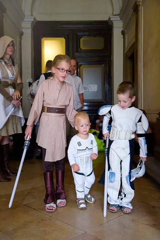 Reméljük, egyszer Jedi lovagok lesznek belőlük!