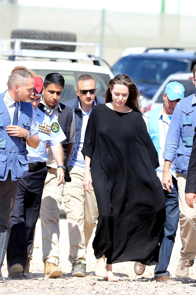 Amióta az ENSZ-nél előléptették, Jolie már nem csak egy egyszerű reklámarc