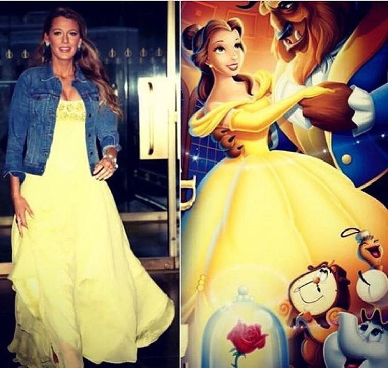 Kinek áll jobban?Ez itt a kérdés, Lively vagy Szépség és a szörnyeteg Belle-je?