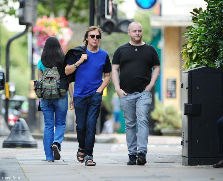 James McCartney nem az az ember, akit sűrűn látunk az újságok címlapjain