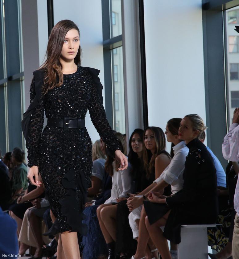 Bella Hadid Gigi Hadid húga, és nővéréhez hasonlóan szintén modellkedik