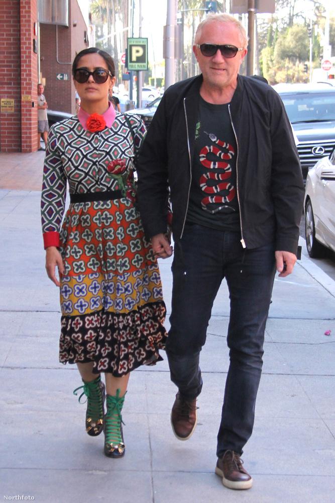 Egy másik mexikói származású színésznő, Salma Hayek választása is sokak számára furcsa lehet: François-Henri Pinault sem első, sem második, sem sokadik látásra nem szép, sőt, kifejezetten ronda férfi