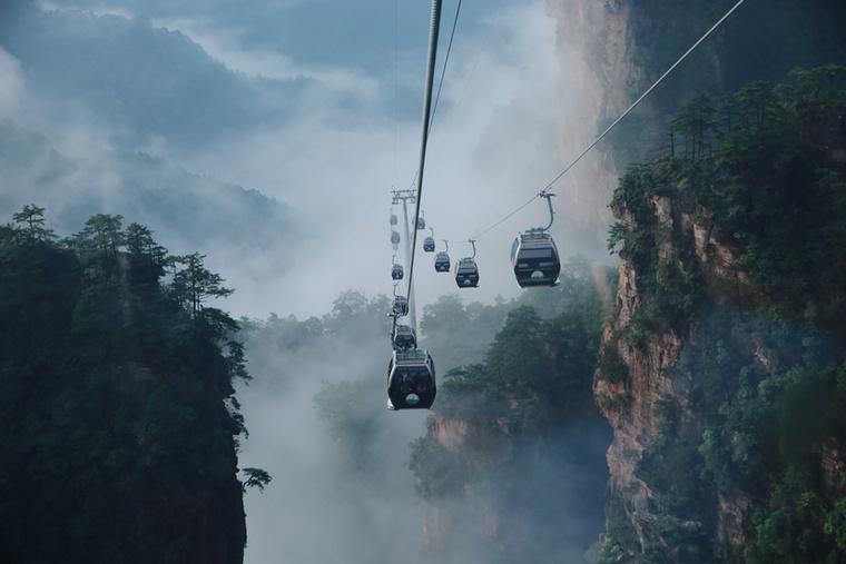 Ilyen fantasztikus liftek visznek fel a csodálatos magasságokba