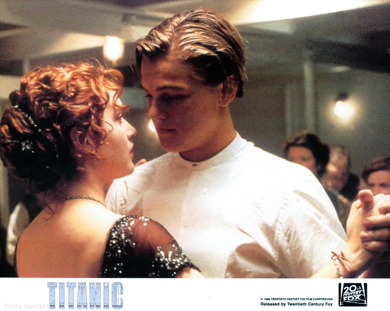 Leonardo DiCaprio az 1997-es titanic forgatásakor már rég ismert színész volt