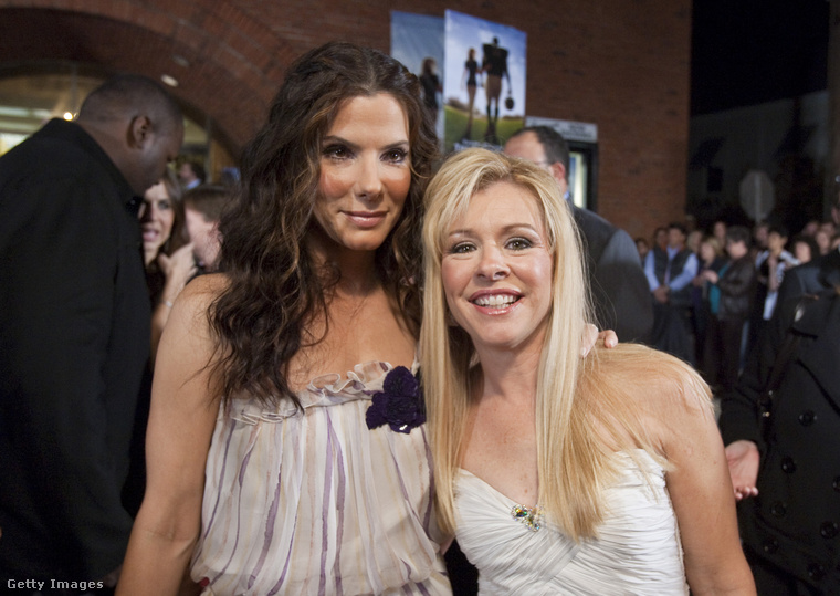 Sandra Bullock is Oscar-díjat kapott Leigh Anne Tuohy megformálásáért