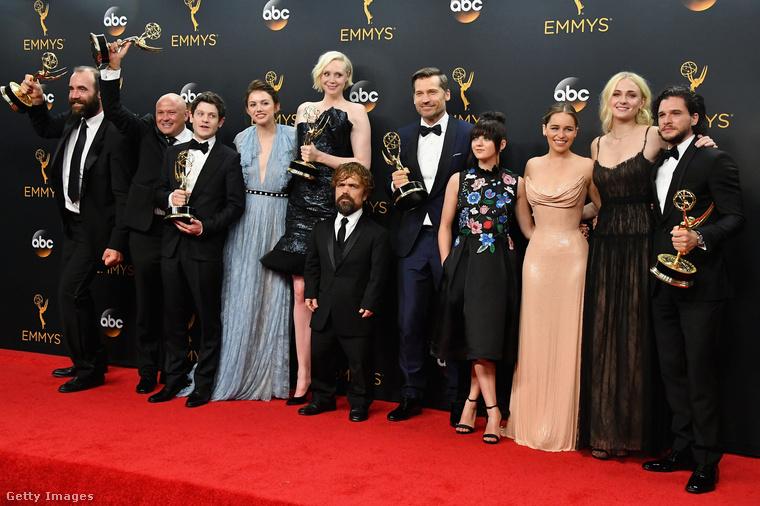 Az Emmy-díjátadó gála abszolút győztese idén a Trónok Harca volt, ami idén rekordot is döntött