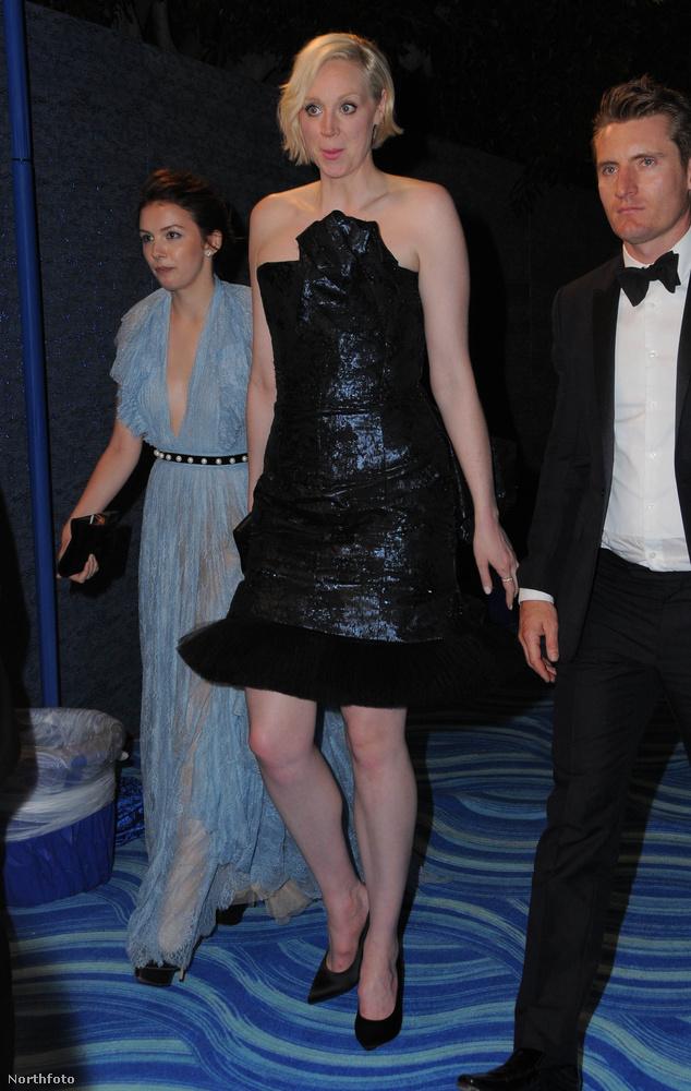 Gwendoline Christie talán a világ legmagasabb színésznője, ő játssza a Trónok Harcában Brienne karakterét