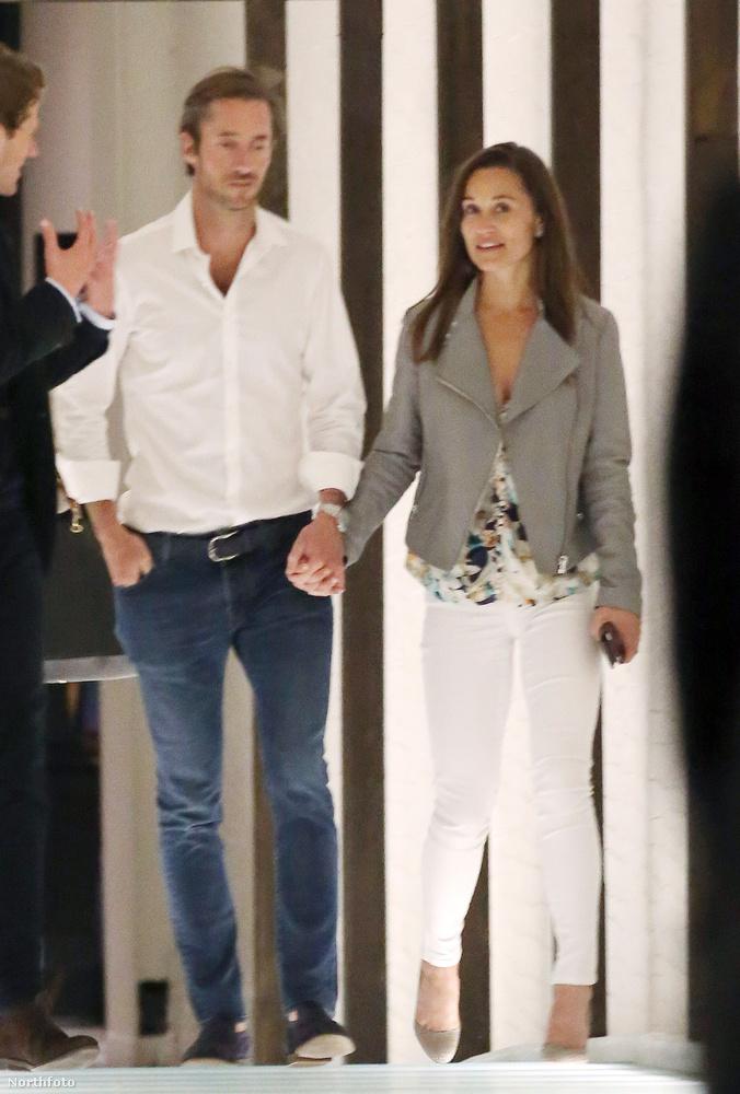 A vőlegényéről, a 41 éves multimilliomos vállalkozóról, James Matthewsról is szó esett.