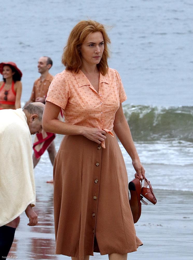 Partnernője egyébként nem más, mint Kate Winslet...