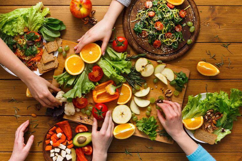 zöldség választék a helmintákhoz)