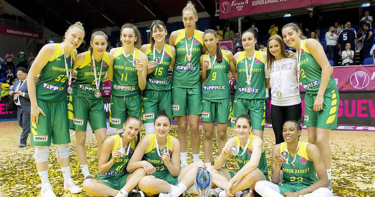 Ezüstöt nyert a Sopron az Euroligában