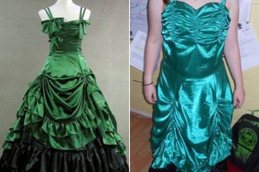 Gyönyörű ruhát rendelt 73ec50cb16