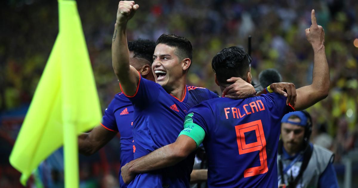 James beindította Kolumbiát: 3-0