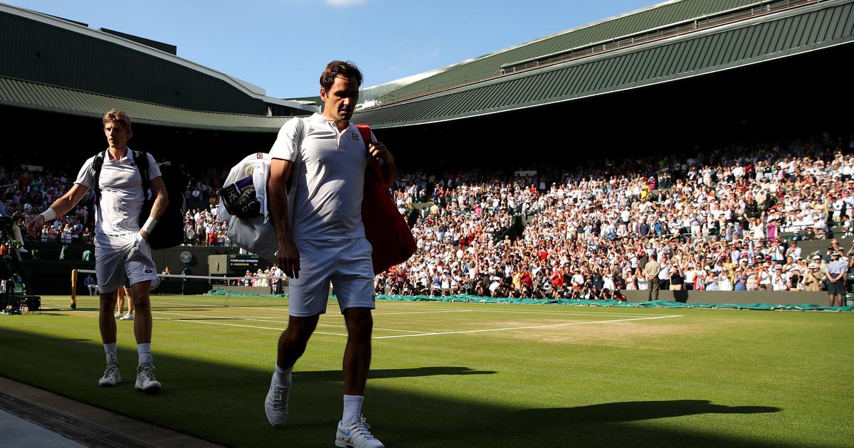 Két szettről, meccslabdáról kapott ki Federer Wimbledonban