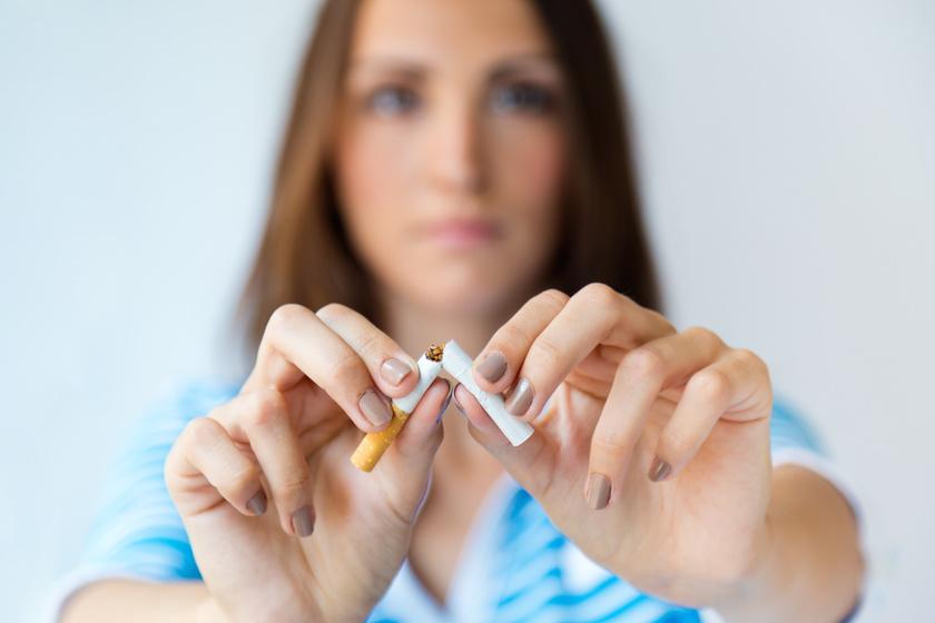 jobb lesz egy lány aki leszokott a dohányzásról)