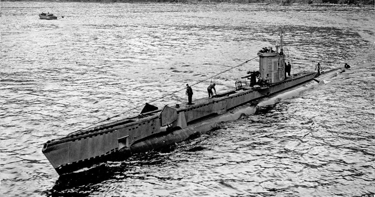 A történelem egyetlen vízalatti tengeralattjáró-csatája
