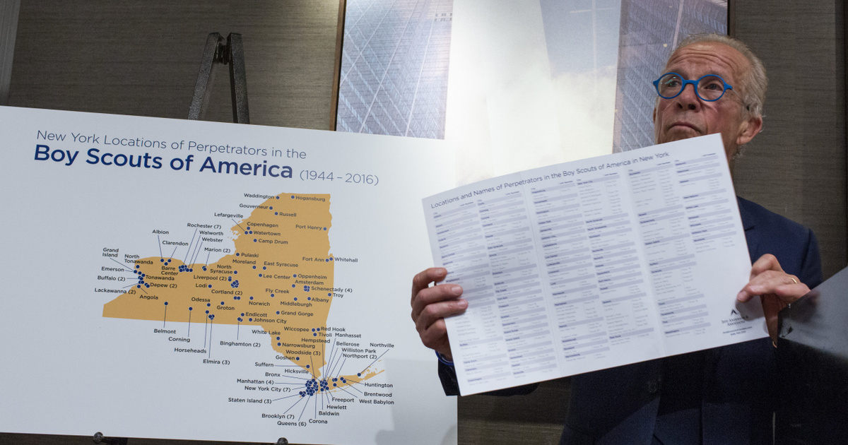 7 ezer cserkészvezető 12 ezer gyereket molesztálhatott az évek folyamán az USA-ban