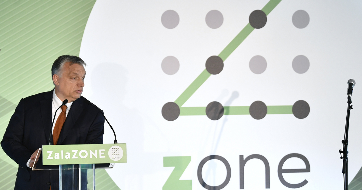 Egy tesztpálya átadásán is az identitás megvédéséről beszélt Orbán
