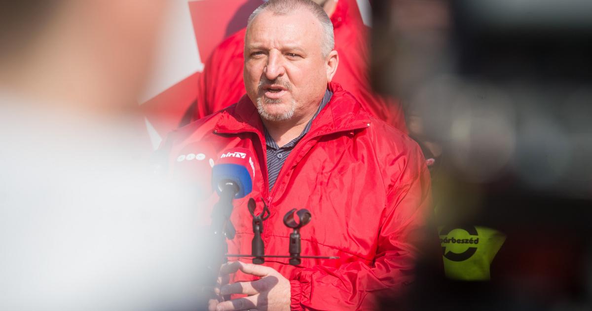 Halálos fenyegetést kapott az MSZP-s Komjáthi Imre