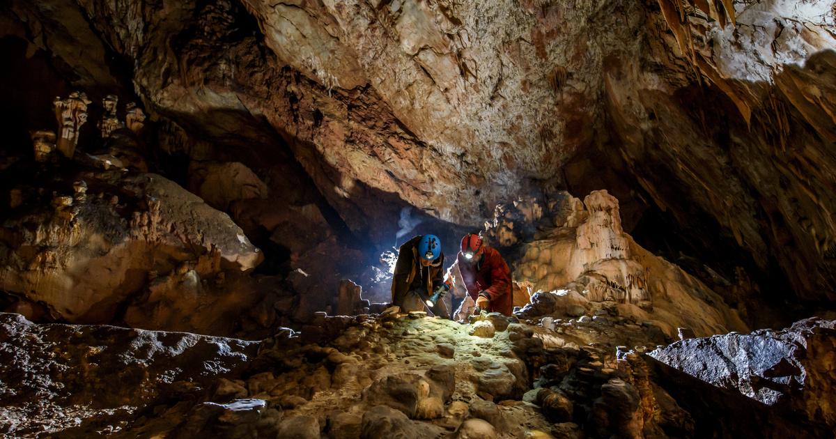 Friss hírek: Jelzett a detektor, 3000 éves rituális leletegyüttest találtak a cseppkőbarlangban. Pont olyan helyen került elő, ahol az ember a kincseket általában elképzeli. Az ásatásvezető mesél a felfedezésről.