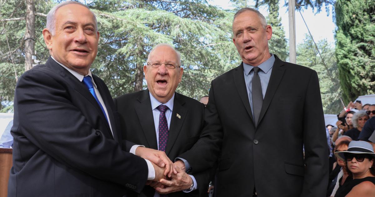 Index - Külföld - Visszautasította Netanjahut a győztes párt vezetője