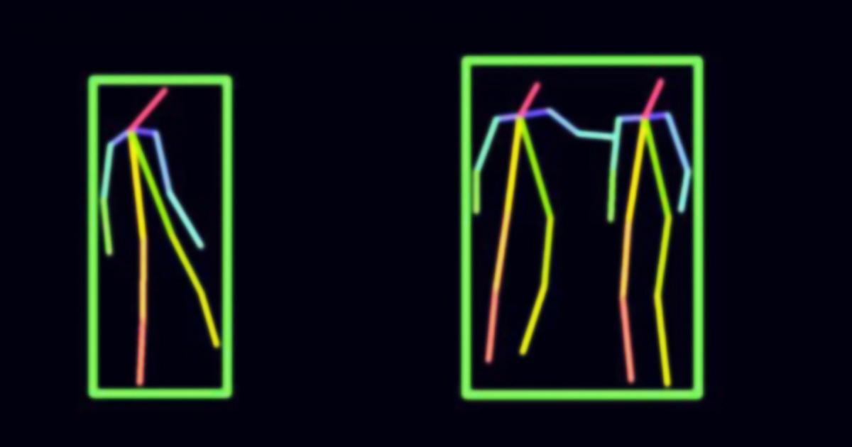 emberi test látása)
